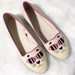 Nicole • Cool Cat Espadrilles Flat